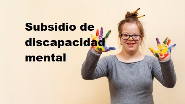 Subsidio Discapacidad Mental
